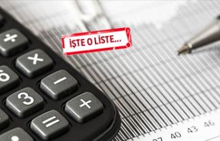 İzmir'in vergi rekortmenleri açıklandı