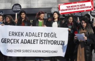 İzmirli kadın avukatlar, kadın savcıyı HSK'ya...