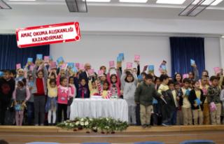 Karabağlar'da Yazar Hamdullah Köseoğlu, çocuklarla...