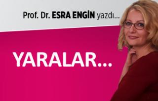 Prof. Dr. Esra ENGİN yazdı: Yaralar...