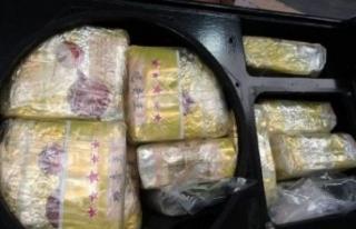 Rekor baskın! 1.7 ton uyuşturucu hoparlörlerden...