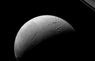 Satürn'ün uydusu Enceladus'taki 'kaplan...