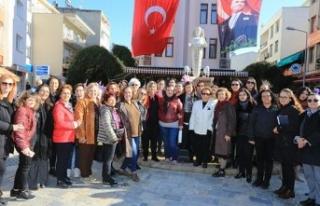 Selçuklu kadınlar seçme ve seçilme hakkını kutladı