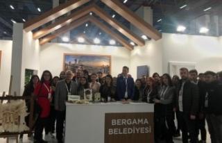 Travel Turkey Fuarı'nda Bergama'ya büyük...