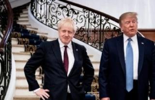 Trump'tan tarihi zafer kazanan Boris Johnson'a...