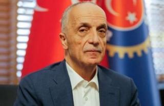 Türk-İş Başkanı yeniden Ergün Atalay