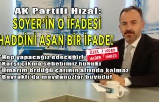 AK Partili Hızal'dan Soyer'e hizmet tepkisi!