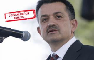 Bakan Pakdemirli: Gönlüm hapis cezasından yana!