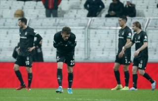 Beşiktaş Ziraat Türkiye Kupası'na veda etti