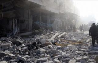 Esad, İdlib'in batısı ve güneyine saldırı...
