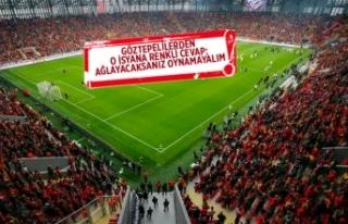 Göztepe'ye yenilen, kural ihlali başvurusu...
