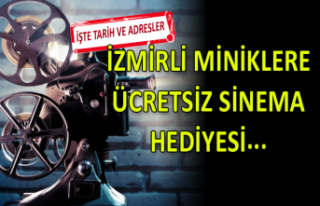 İzmirli miniklere karne hediyesi gibi ücretsiz sinema...