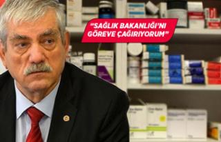 CHP'li Beko 'ilaç krizi'ni Meclis'e...