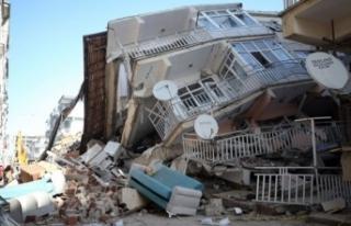 Elazığ depremi sonrası toplanan bağışlar 100...