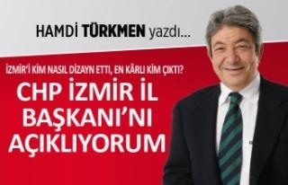 Hamdi Türkmen yazdı: CHP İzmir İl Başkanı'nı...