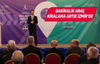 İzmir'de paylaşımlı araç kullanımı için...