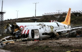 Pegasus'tan pistten çıkan uçak ile ilgili açıklama...