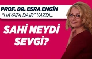 Prof. Dr. Esra Engin yazdı: Sahi neydi sevgi?
