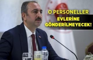 Adalet Bakanı Abdulhamit Gül açıklamalarda bulundu