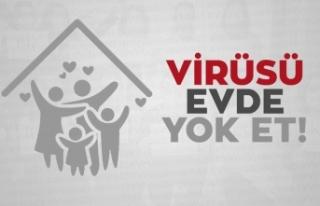 """Bakan Soylu'dan """"Virüsü evde yok et""""..."""
