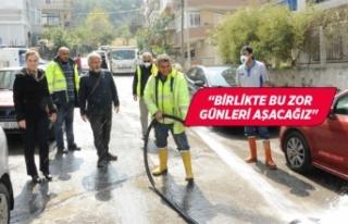 Balçova sokak sokak temizleniyor