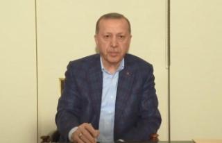 Erdoğan'dan vatandaşlara telefondan sesli mesaj