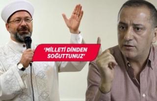 Fatih Altaylı Diyanet İşleri Başkanı'na yüklendi