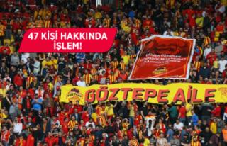 Göztepe-Medipol Başakşehir maçıyla ilgili emniyetten...