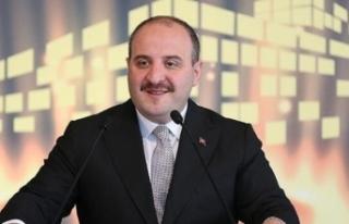 """Sanayi ve Teknoloji Bakanı Varank'tan """"evinde..."""