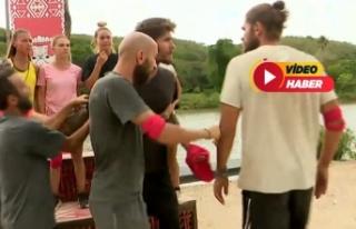 Survivor ödül oyunu sırasında birbirlerine girdiler!