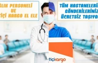 Yurtiçi Kargo'dan hastanelere ücretsiz hizmet