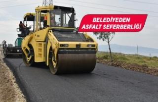Aliağa Belediyesi asfalt seferberliğine başladı