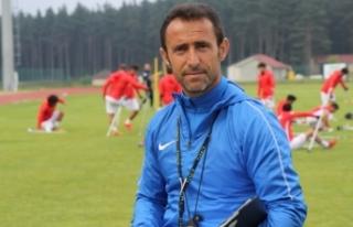 Ampute Milli Futbol Takımı Teknik Direktörü çalışmalara...