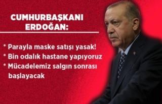 Cumhurbaşkanı Erdoğan: Devlet böyle günler için...