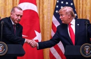 Cumhurbaşkanı Erdoğan, Trump'a mektup gönderdi