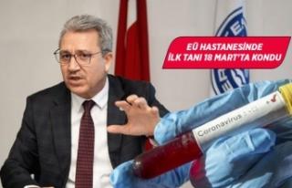 Ege Rektörü Budak'tan 'korona' açıklaması