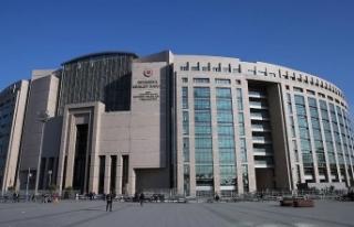 İstanbul Adalet Sarayı'nda yeni tip koronavirüs...