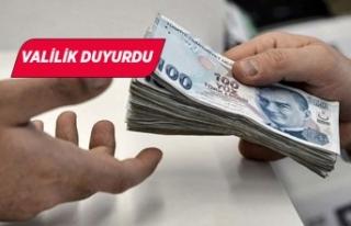 İzmir'de ihtiyaç sahiplerine nakdi yardımlar...