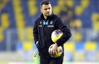 Trabzonspor Teknik Direktörü Çimşir'in iki...