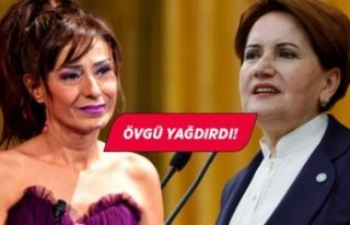 Yıldız Tilbe'den Meral Akşener'e destek