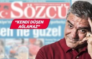 Yılmaz Özdil'den, Sözcü'nün manşetine eleştiri