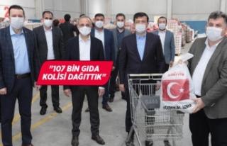 AK Parti İzmir'den, İzmir'e rekor yardım...