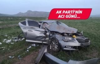 AK Parti'li meclis üyesi trafik kazasında yaşamını...