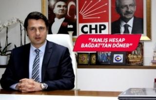 CHP'li Yücel'den 'Özdemir' yorumu