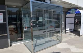 Çiğli Belediyesi'nden ozon kabini