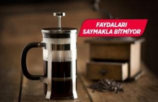 Filtre kahvenin inanılmaz faydaları...