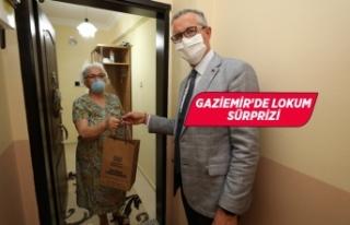 Gaziemir Belediyesi'nden tatlı sürpriz