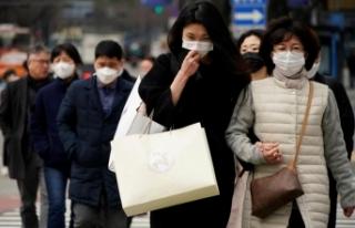 Güney Kore'de 58 vaka tespit edildi