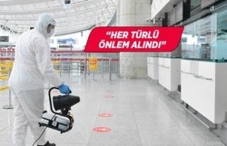 Havalimanlarında 4 Haziran için hazırlıklar tamamladı