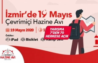 İzmir'de 19 Mayıs coşkusu engel tanımıyor